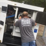 We have hardworking employees here at Reliable Electric LLC!